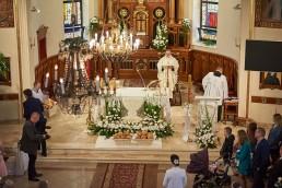 Reportaż fotograficzny z Komunii Świętej pod Sulejówkiem